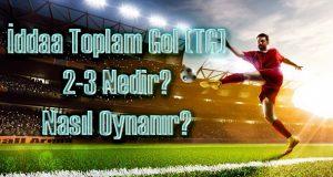 iddaa tg 2-3 kupon işaretleme, iddaa tg 2-3 nedir?, tg 2-3 nasıl oynanıyor?, toplam gol 2-3, toplam gol 2-3 nasıl oynanır?, toplam gol 2-3 ne demek?